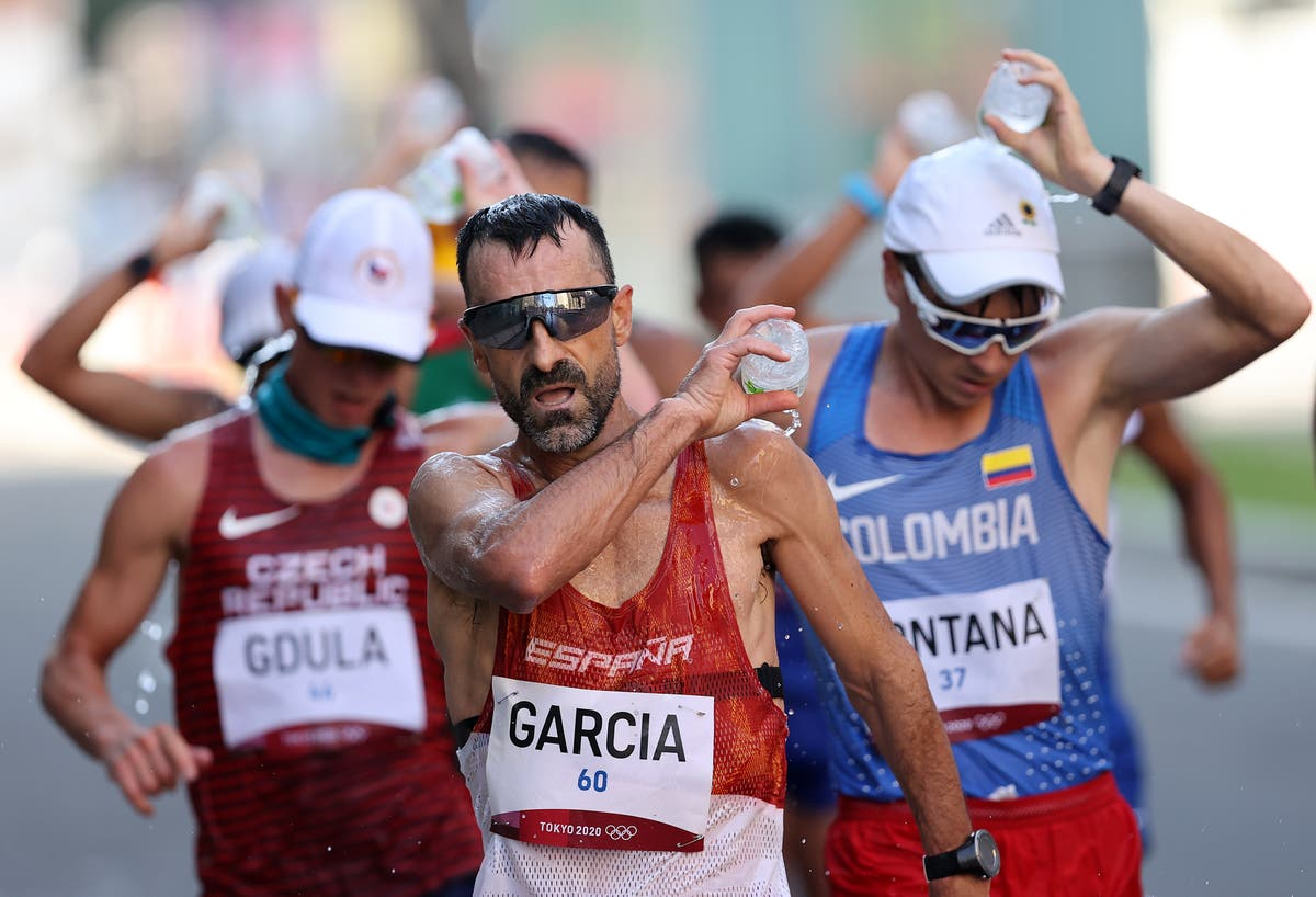 Spain's 51-year-old race walker has now been in eight Olympic Games – a world record