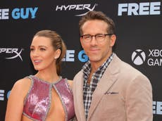Ryan Reynolds says Blake Lively wrote lines in several of his films, including Deadpool