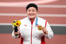 Backlash after Chinese athlete is described as 'manly woman' and asked about marriage