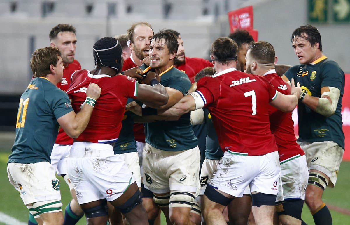 Gregor Townsend urges Lions to create more in decider against South Africa