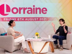 Simon Amstell pokes fun at Loose Women's former all-white line-up on Lorraine: 'It was a different time, 2016'
