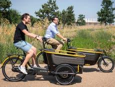Cargo bikes deliver parcels in city centres more quickly than vans, achados de estudo