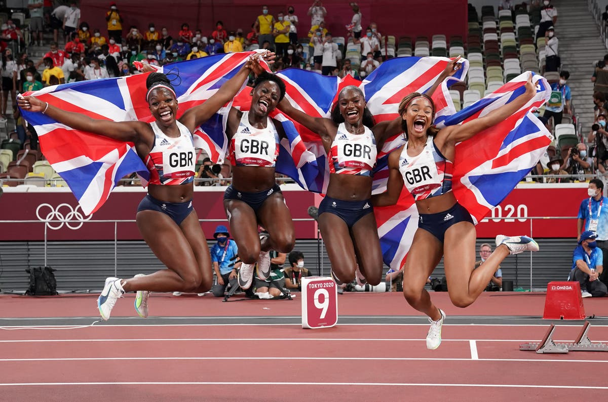 Dina Asher-Smith completes comeback as Great Britain claim relay bronze in Tokyo