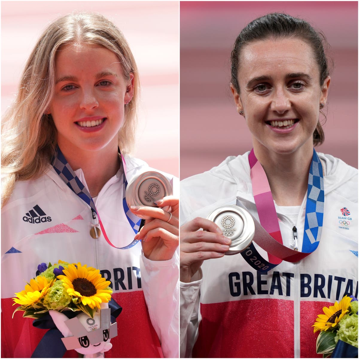 Keely Hodgkinson and Laura Muir end long wait for Britain – how do they compare?
