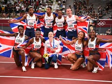 Tokyo Olympics LIVE: 4x100m relay medals, Laura Muir wins 1500m silver, Allyson Felix makes history