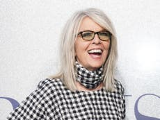 Diane Keaton sparks confusion with 'bizarre' singing tribute to Mel Gibson and Jude Law