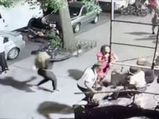 Video shows moment female assassin shot woman dead on New York City pavement