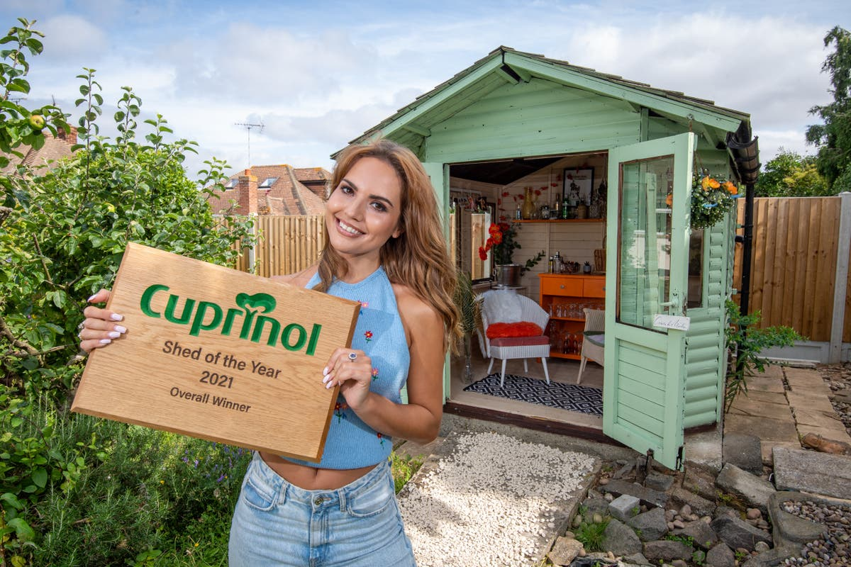 Shed of the Year: Influencer's cocktail bar beats 300 rivals to top prize