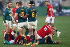 Is British and Irish Lions vs South Africa on TV tonight? キックオフタイム, channel and how to watch third Test