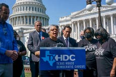As Texas Democrats mull return, GOP voting bill still awaits