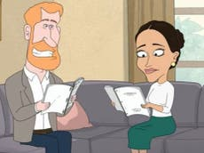 Prince Harry and Meghan Markle ridiculed in controversial HBO cartoon The Prince
