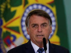 Brazil indigenous group accuses Bolsonaro of 'genocide' and 'ecocide'