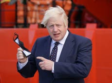 Boris Johnson news - live: PM's ratings at new low as Sunak 'warned of demotion' and Williamson urged to go