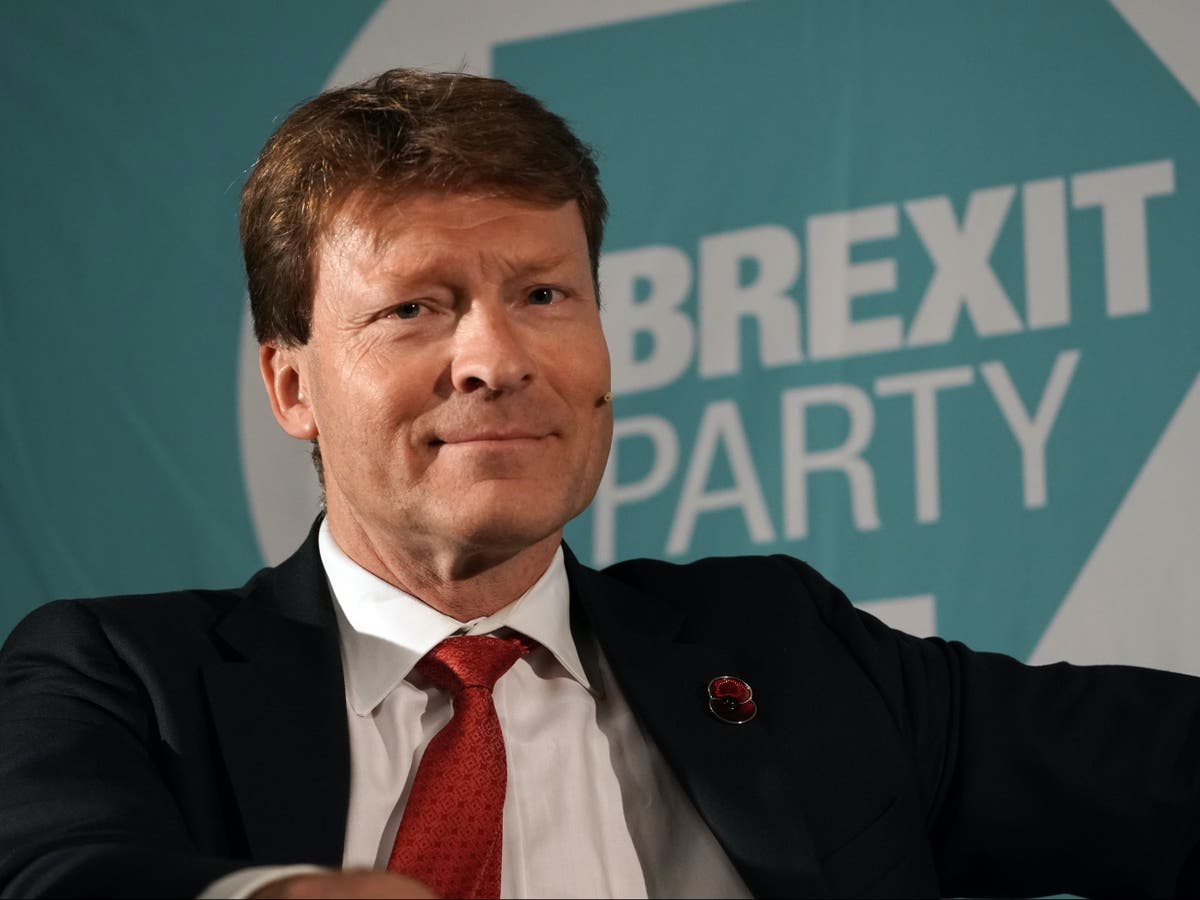 Brexit Party relaunch group has bank account shut down