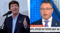 Retired Lt Col Vindman says Fox host Tucker Carlson tends to 'demonise' and 'hate' America