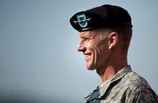 Retired army general Stanley McChrystal admits War on Terror was not worth it