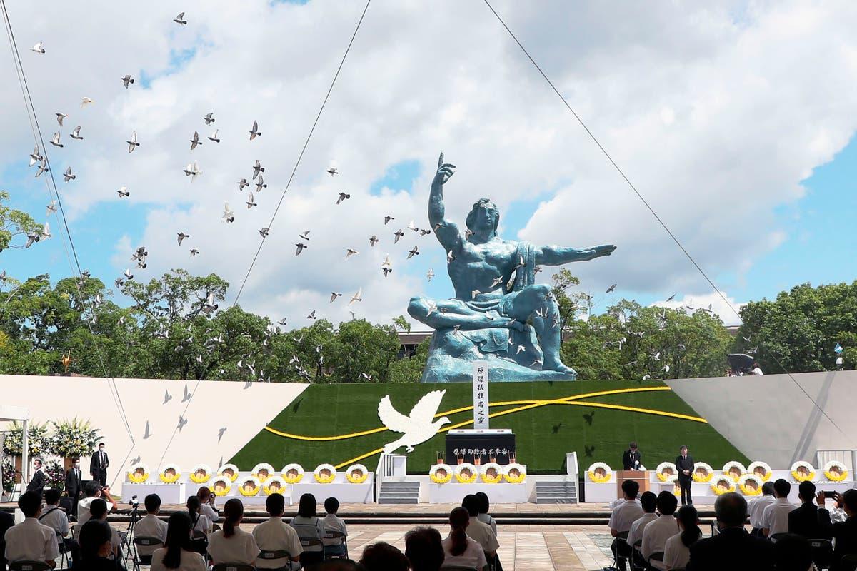 Nagasaki marks 76th anniversary of atomic bombing
