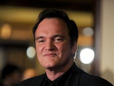 Quentin Tarantino reveals he vowed never to give his mum a penny of his film director fortune