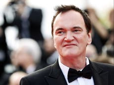 Quentin Tarantino's mum reacts to director's vow to never to give her a penny of his film director fortune