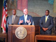 Louisiana governor fasts for Covid as hospitalisations in state hit 2,720