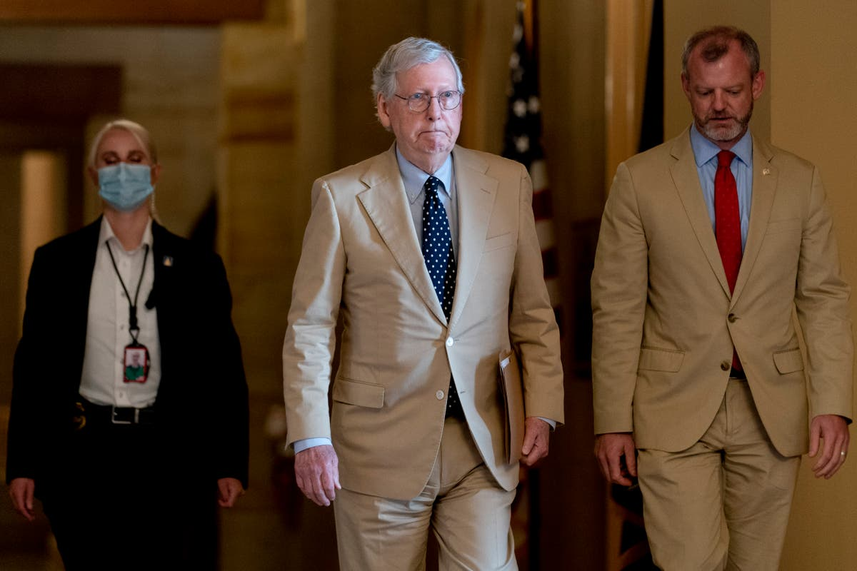 Remember: Mitch McConnell didn't pass this infrastructure bill out of the goodness of his heart | Griffin Connolly