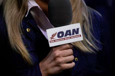 OAN and Newsmax sued for $1.6bn by Dominion for promoting election conspiracy theories