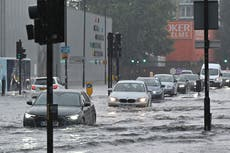Sadiq Khan calls for urgent climate action as London faces soaring heat and floods