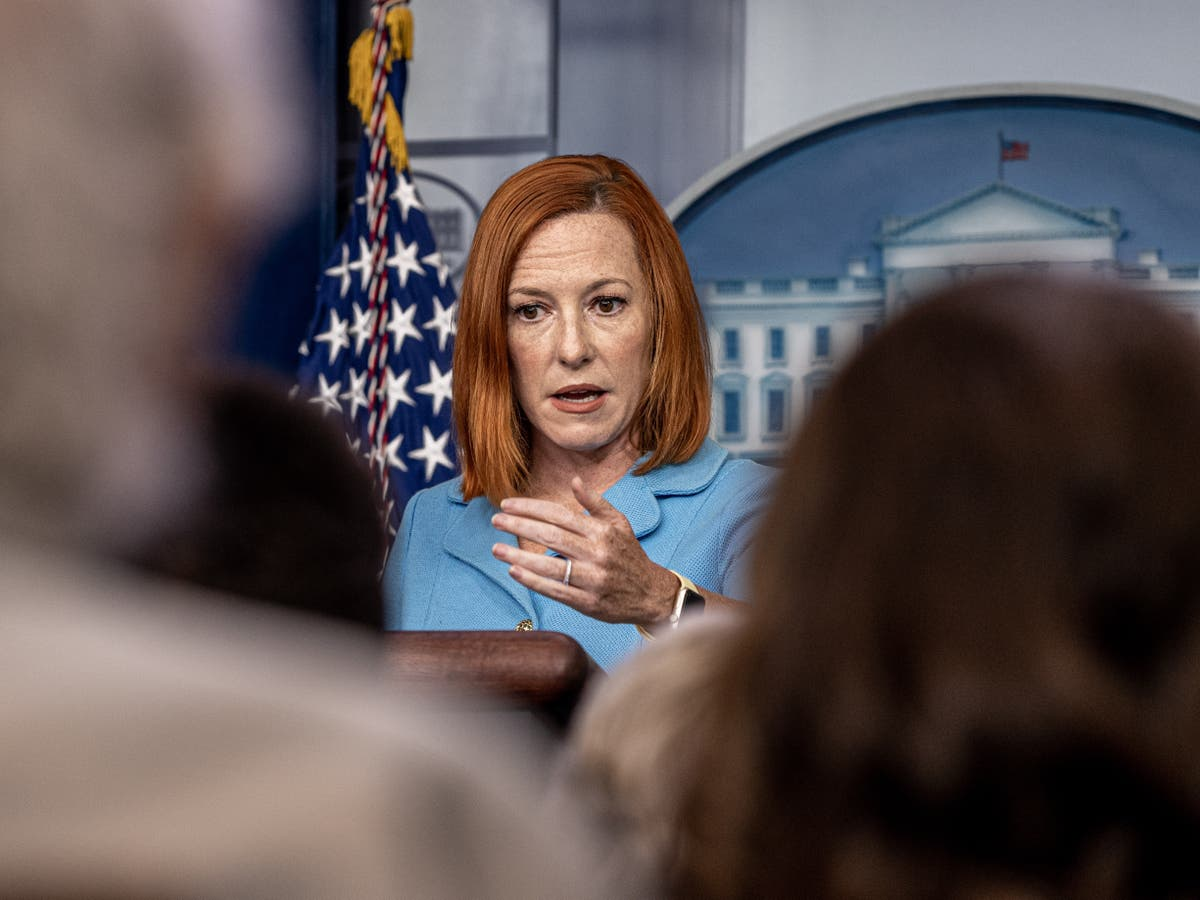 Jen Psaki calls on Congress to pass law guaranteeing abortion rights