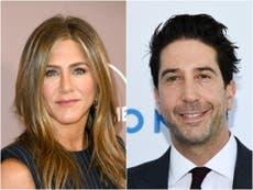 David Schwimmer denies Jennifer Aniston romance speculation following Freinds Reunion