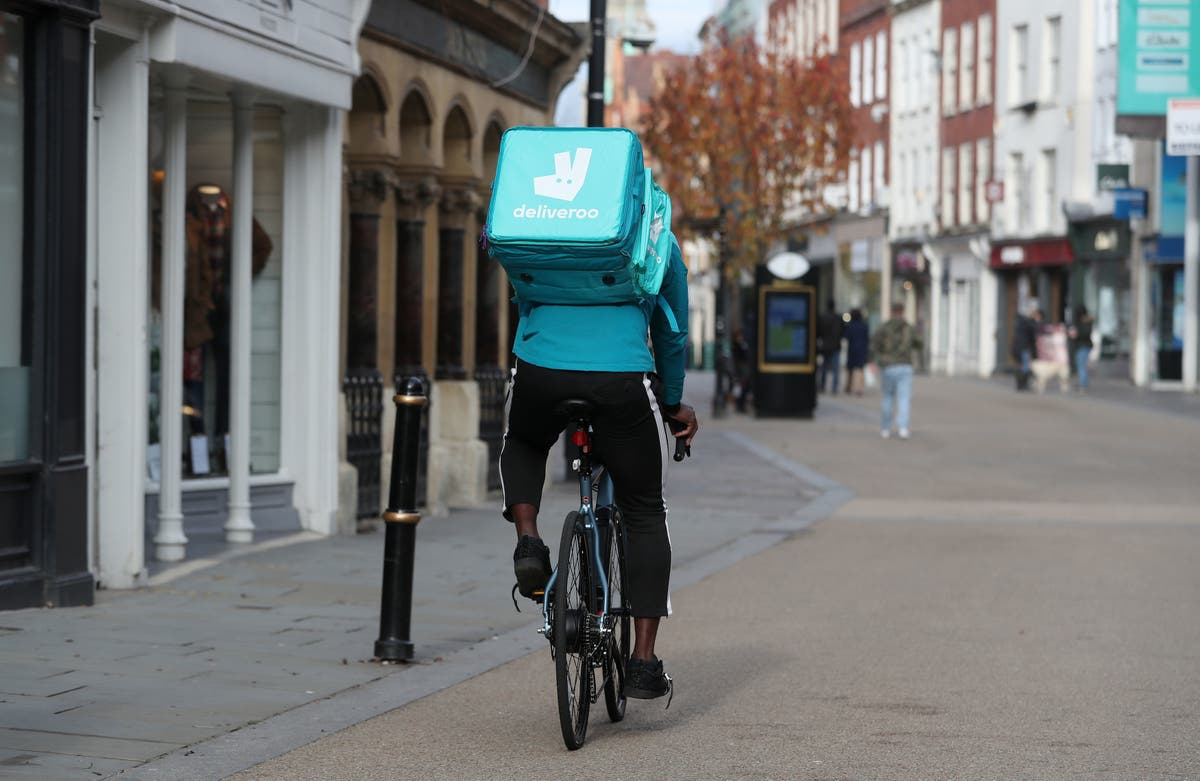 Deliveroo doubles orders despite lifting of lockdown