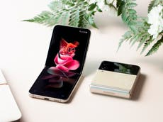 Galaxy Z Flip 3: Samsung launches new clamshell folding smartphone with headphones and watch