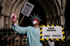 US lawyers appeal UK decision to block Assange extradition