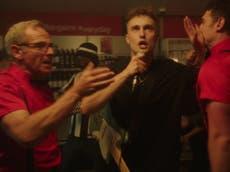 Sam Fender shares video for B-side 'Howdon Aldi Death Queue' starring Robson Green – watch