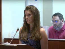 Teacher cries as she quits in front of Virginia school board considering more inclusive transgender policy