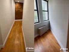 TikTok van $2,950 Die woonstel in New York word viraal vanweë die 'onbegryplike' uitleg: 'Waar gaan meubels heen??'