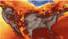 Duelling heat domes descend on the East and West coasts placing 200m under warnings