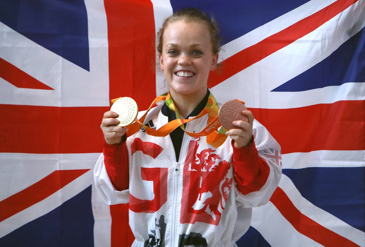 Who is British Paralympic swimmer Ellie Simmonds and when is she competing?