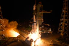 Indian launch attempt of earth observation satellite fails