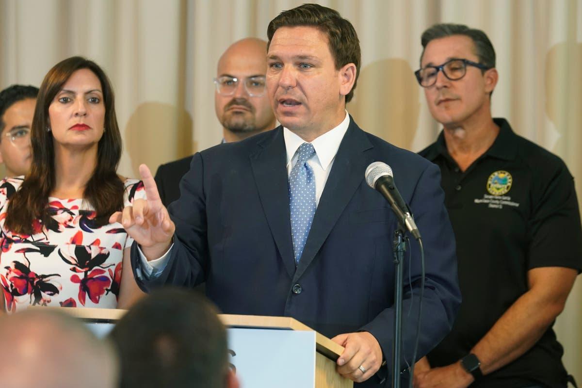バイデンの管理者がテキサスを支援, マスクマンデートのフロリダ地区