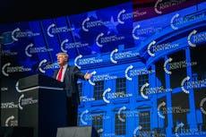 Trump ridiculed for bizarre three-word press release