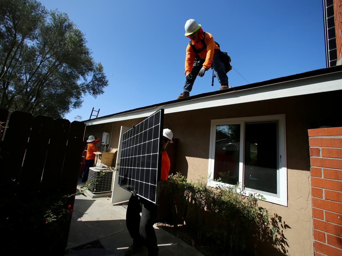 California directive orders new buildings to have solar panels from 2023: 'A future beyond fossil fuels'