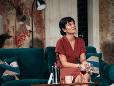 Lily Allen makes an eerily good stage debut in haunted house tale 2:22 – review