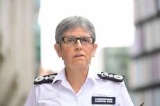 Met chief Cressida Dick to stay in post until 2024, Priti Patel confirms