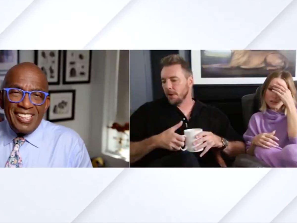 Kristen Bell and Dax Shepard's daughter interrupts TV interview