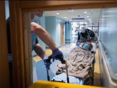One in 10 patients caught Covid in hospital during first wave, UK study shows