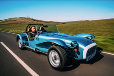 Caterham Super Seven 1600: Utterly unsuited to the British weather