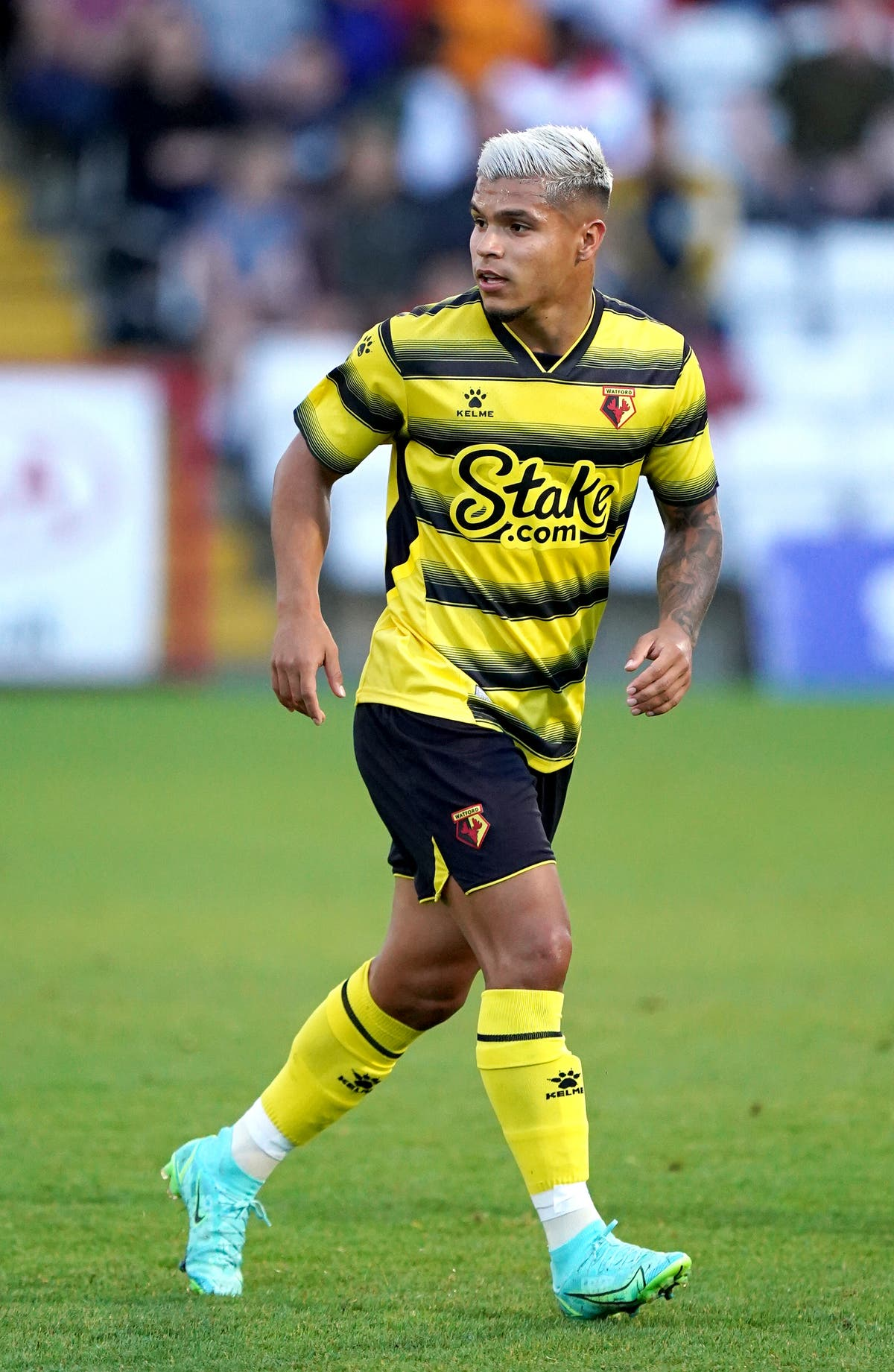 Watford's Cucho Hernandez out to emulate Sergio Aguero in Premier League
