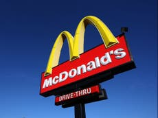 McDonald's runs out of milkshakes and bottled drinks due to supply chain disruption