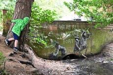Banksy confirms he is behind street art along England's east coast