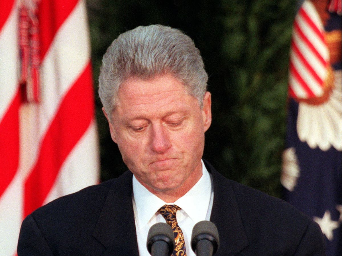 What were the votes in Bill Clinton's impeachment?